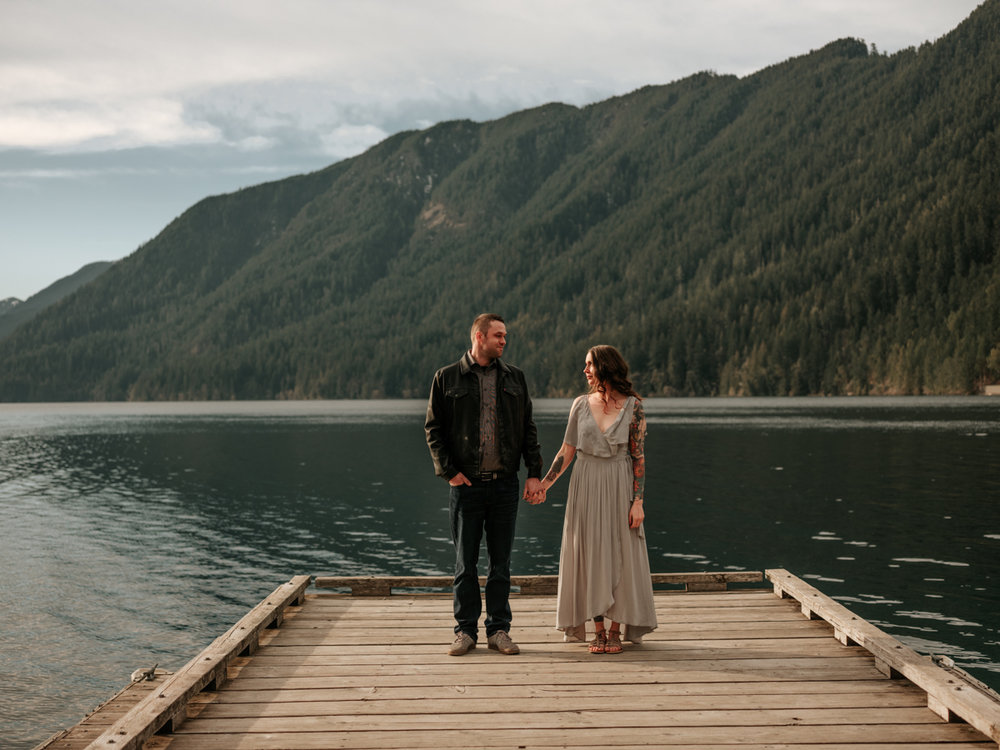 Stolen Glimpses Seattle Wedding Photographer Lake Crescent Engagement Session 32.jpg