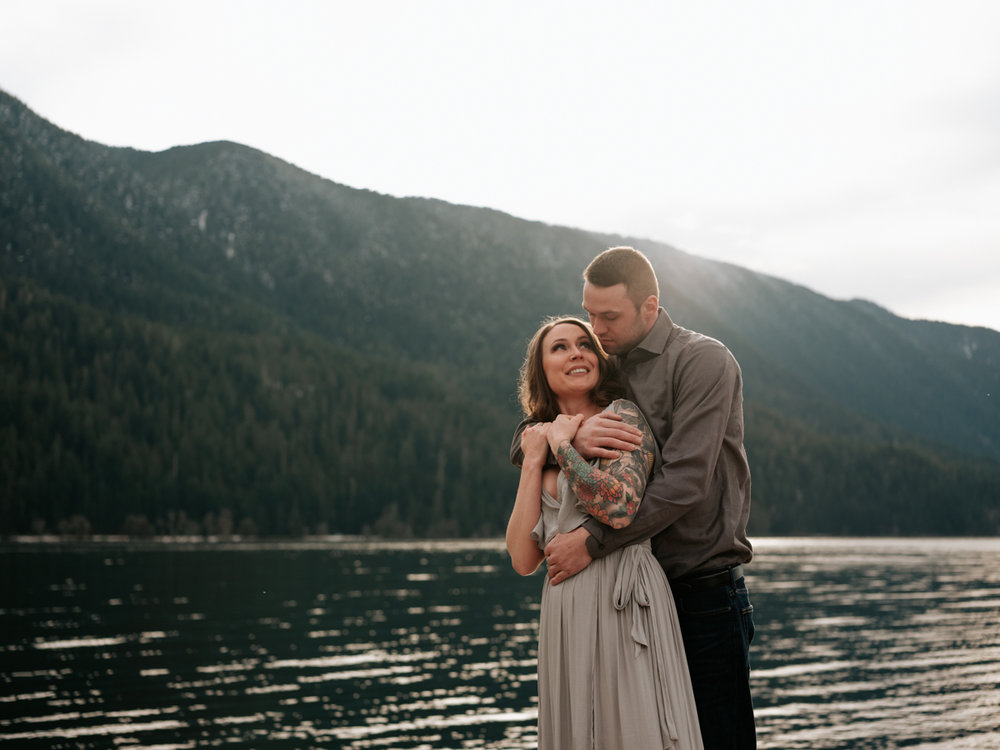 Stolen Glimpses Seattle Wedding Photographer Lake Crescent Engagement Session 37.jpg