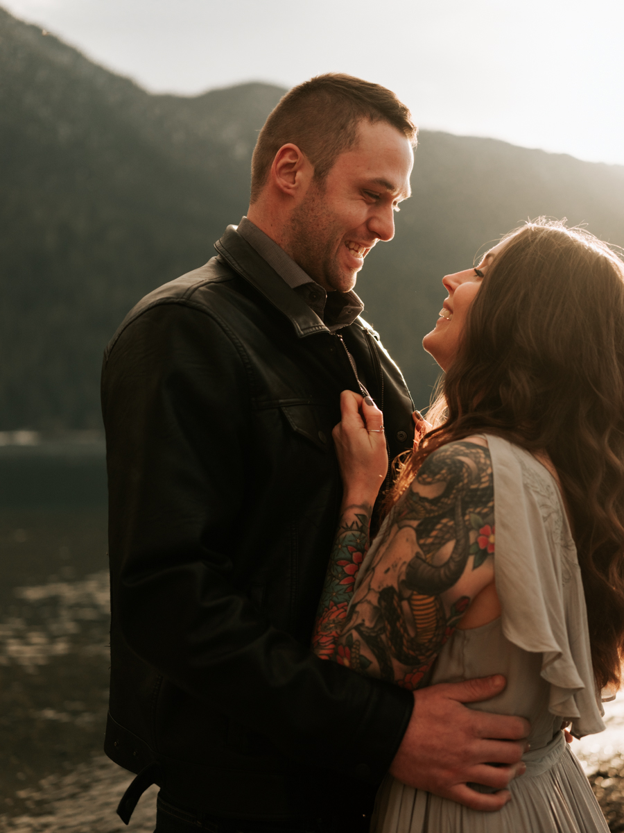 Stolen Glimpses Seattle Wedding Photographer Lake Crescent Engagement Session 58.jpg