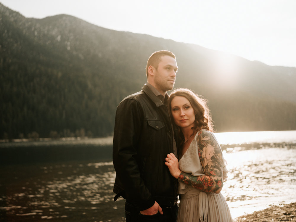 Stolen Glimpses Seattle Wedding Photographer Lake Crescent Engagement Session 60.jpg