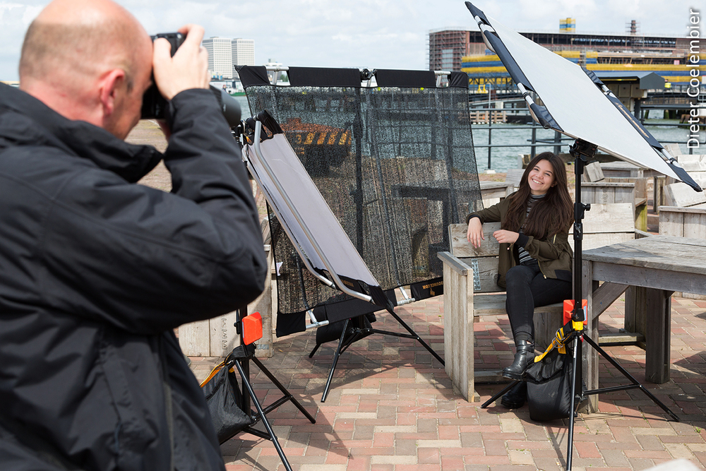 Behind the scenes with Fiamma in Rotterdam.