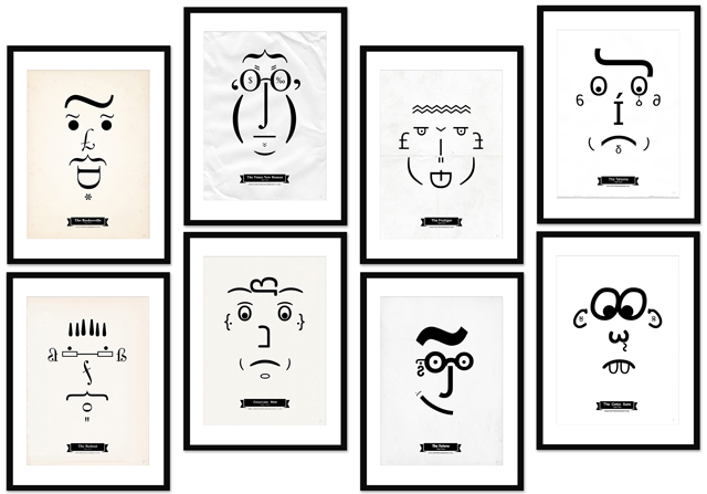 Type Faces by Tiago Pinto