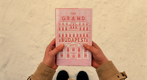 Graphic design for Wes Anderson's The Grand Budapest Hotel