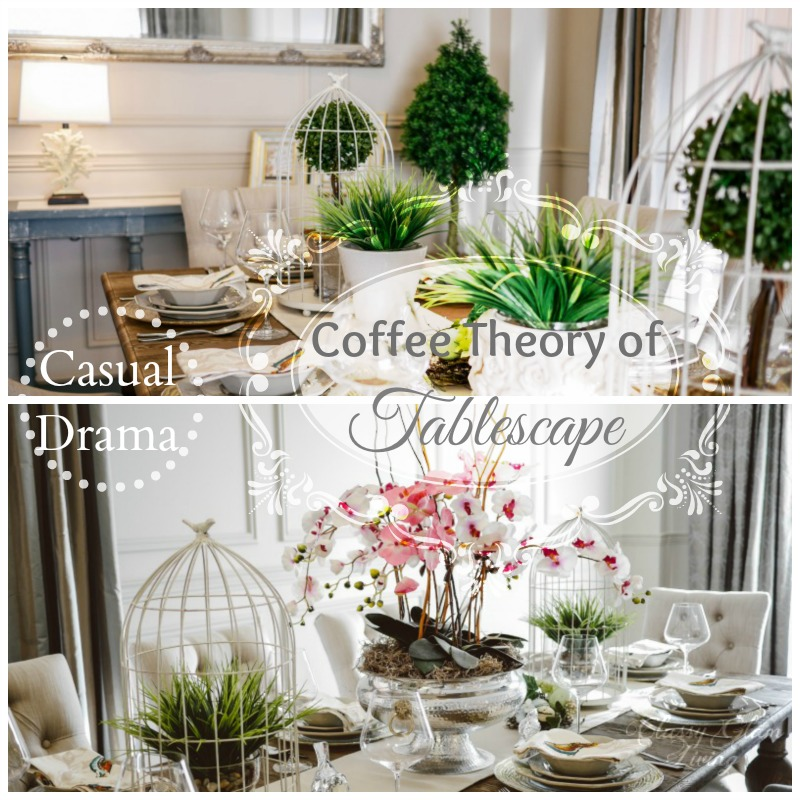 Spring Easter Dining Table Setting | Coffee Theory of Tablescape | Classy Glam Living
