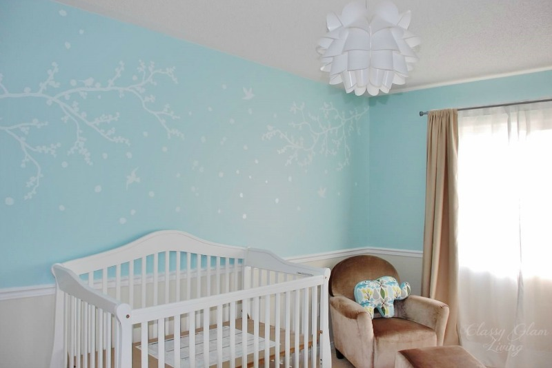 How We Put Together the Nursery | Classy Glam Living