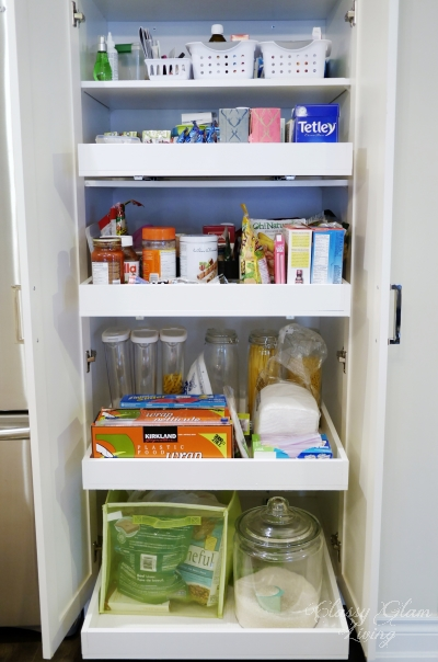 Happy Wife Pull-out Pantry Shelves | Classy Glam Living