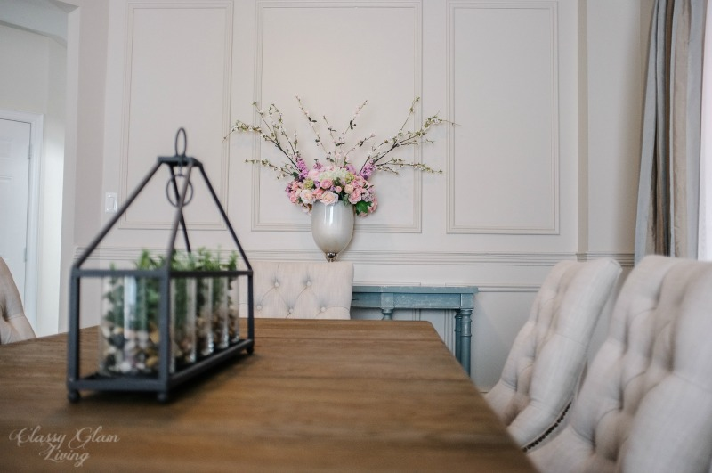 Restoration Hardware Inspired DIY Wainscoting & Chair Rail — Classy ...