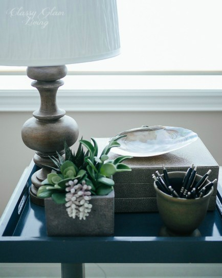 Office Desk Tray Styling | Classy Glam Living