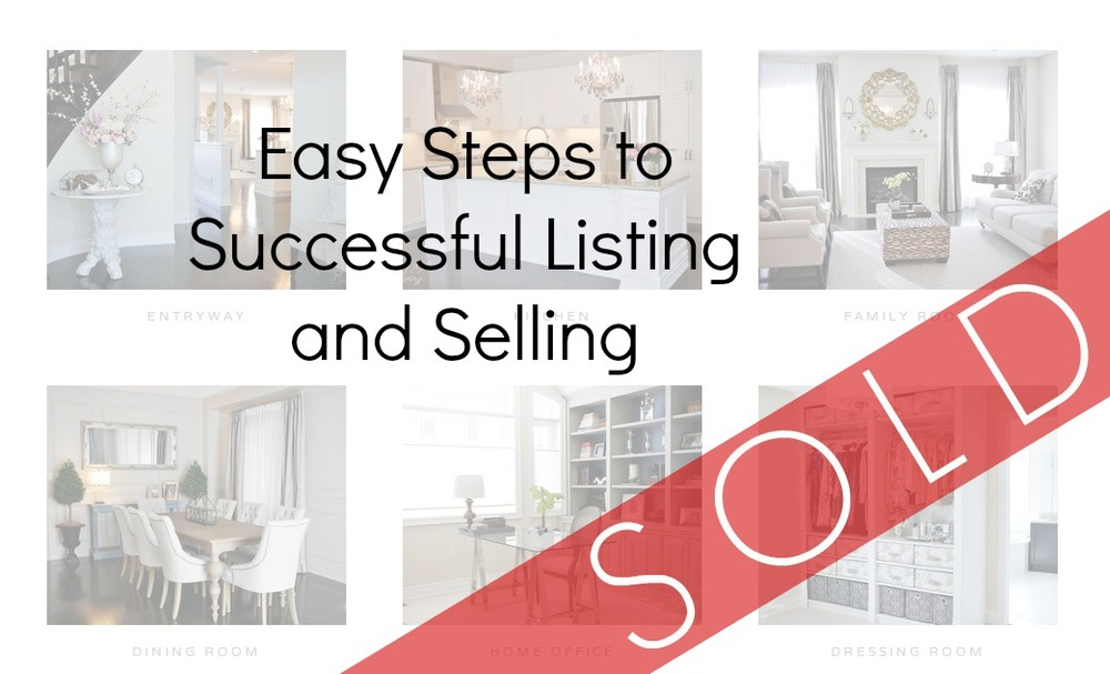 Easy Steps to Successful Listing & Selling | Classy Glam Living