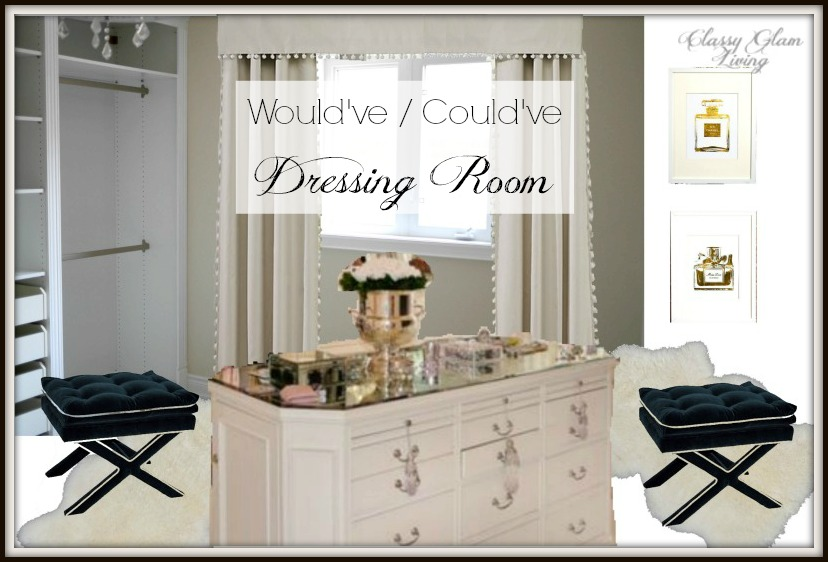 Dressing Room Design Board | Classy Glam Living