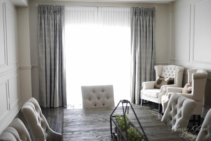 Living Room | Classy Glam Living