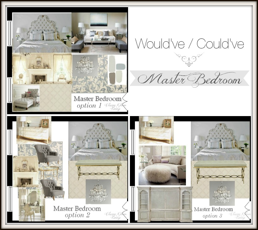 Master Bedroom Design Boards | Classy Glam Living