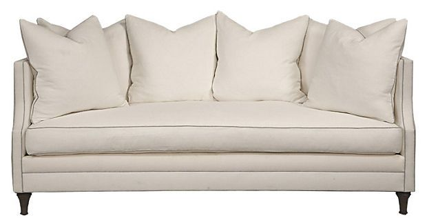 DUMONT LINEN SOFA |  ONE KINGS LANE