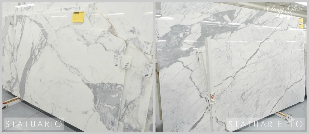marble classy glam living