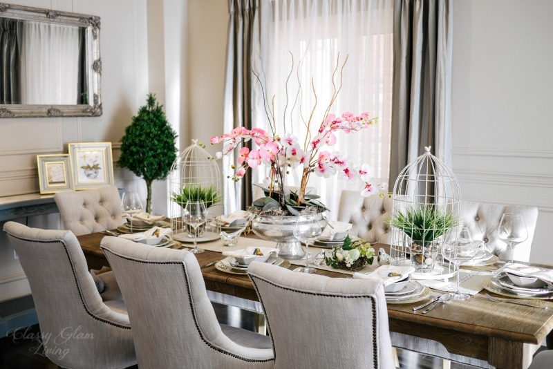 Dining Room Setting | Classy Glam Living