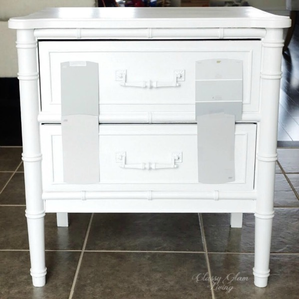 HENRY LINK BALI HAI BEDSIDE TABLES REFINISH DIY | CLASSY GLAM LIVING