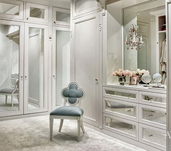 Master Suite Series Dressing Room Classy Glam Living