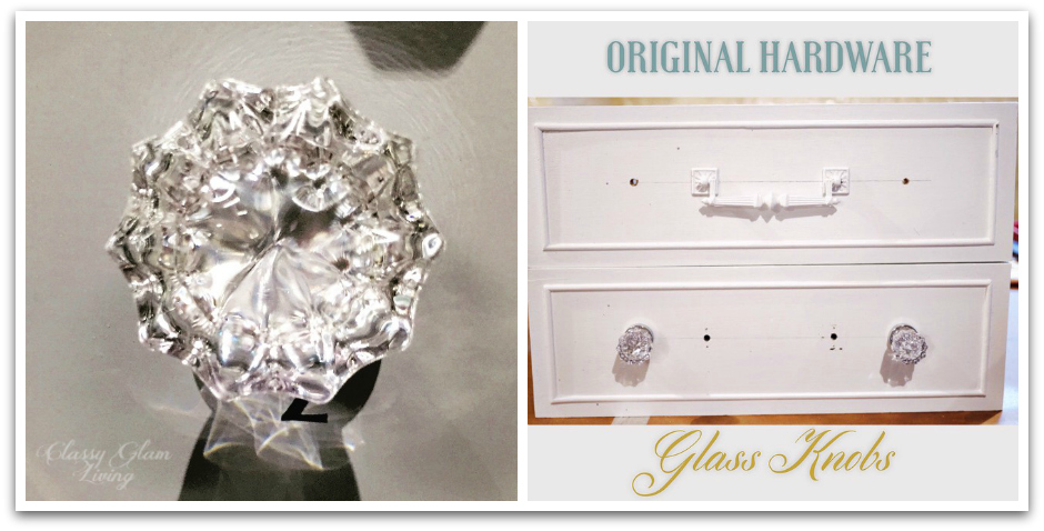 Glass Knobs for Beside Tables | Classy Glam Living