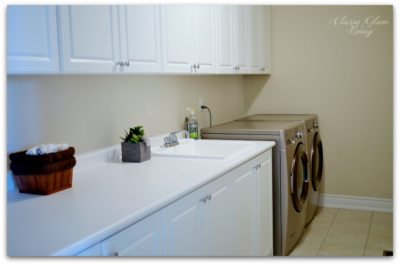 Our laundry room at the old house