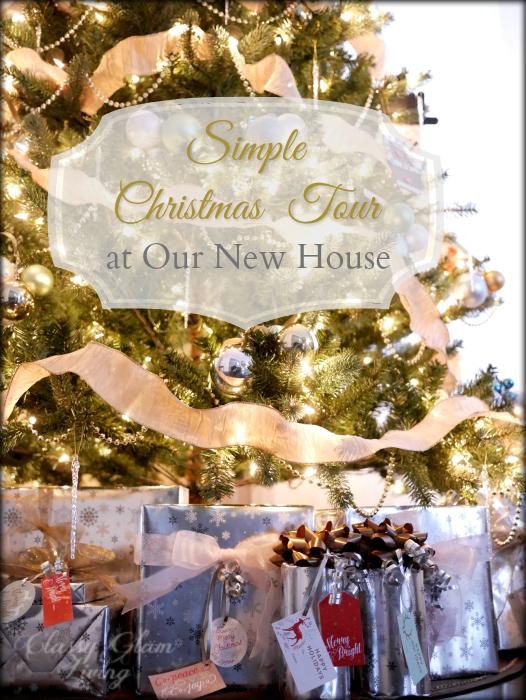 2015 Christmas House Tour - Classy Glam Living