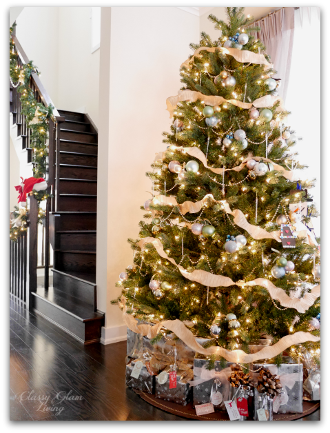 2015 Christmas Tree New House | Classy glam Living