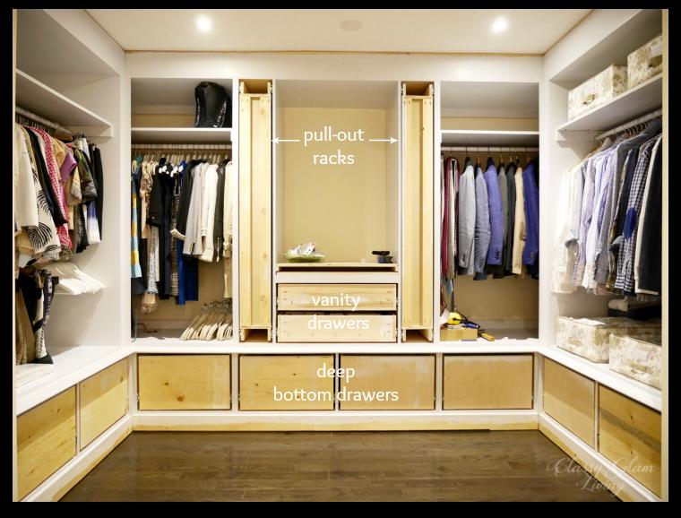 DIY Custom Closet Dressing Room Update | Glass Knobs | Classy Glam Living | Custom  Closet