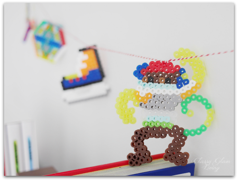 Big Boy Room Reveal | Boy's room | Kid's room | Melted beads garland | Classy Glam Living