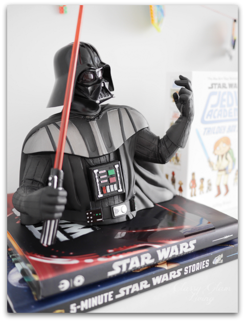 Big Boy Room Reveal | Boy's room | Kid's room | Darth Vader piggy bank | Classy Glam Living