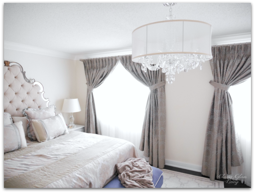 Master Bedroom Chandelier Straight From The Fairytales Classy Glam Living