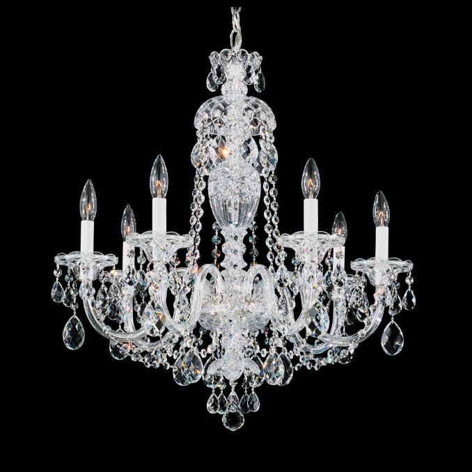Master bedroom chandelier straight from the fairytales classy glam via schonbek aloadofball Gallery