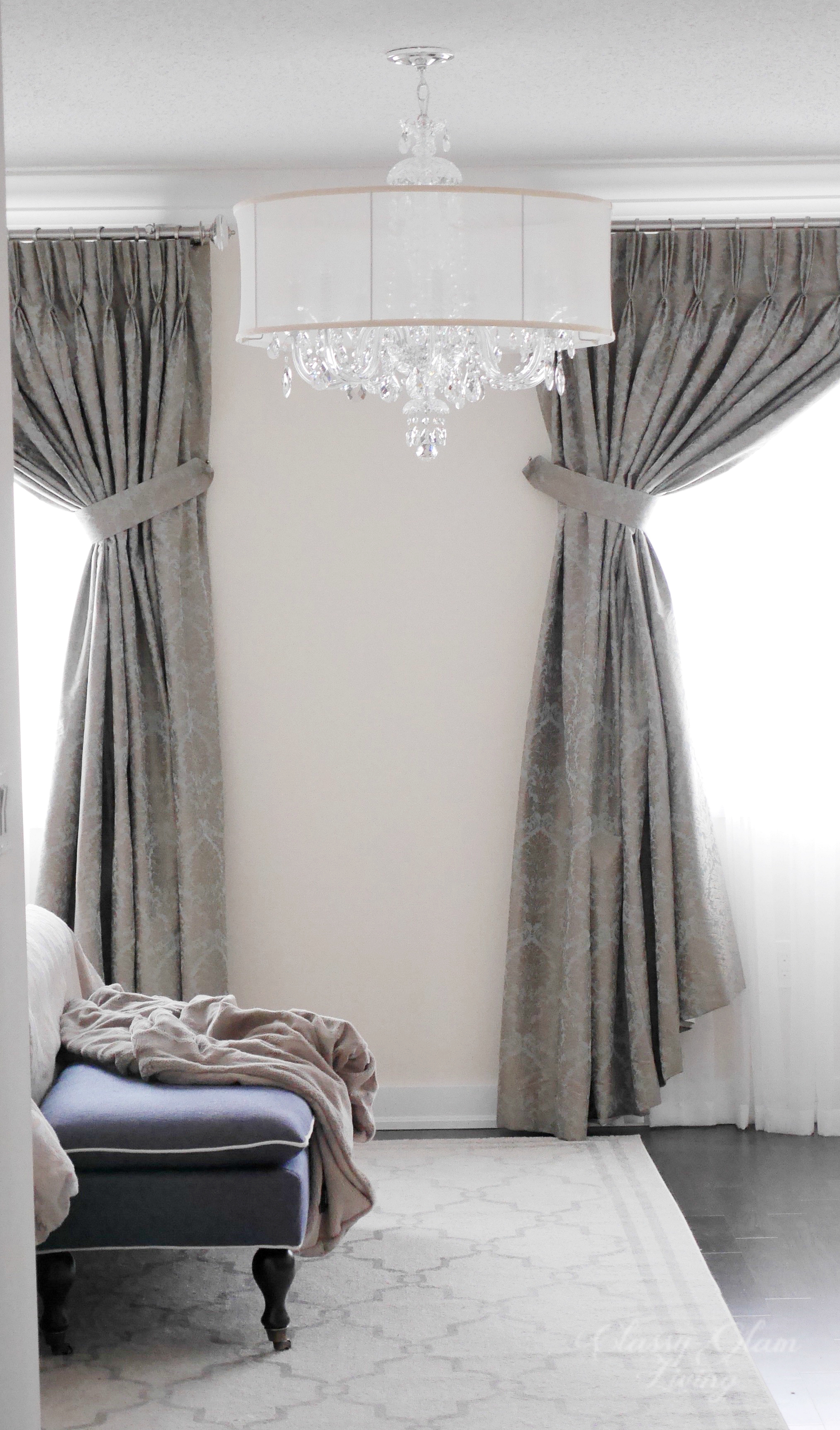 Master Bedroom Chandelier Straight from the Fairytales Classy Glam