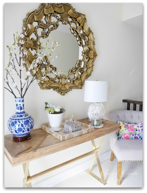 5 Home Decor Ideas for Spring | Colourful art | Classy Glam Living