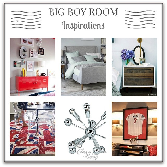 Little Man's Big Boy Room Design Board | Classy Glam Living
