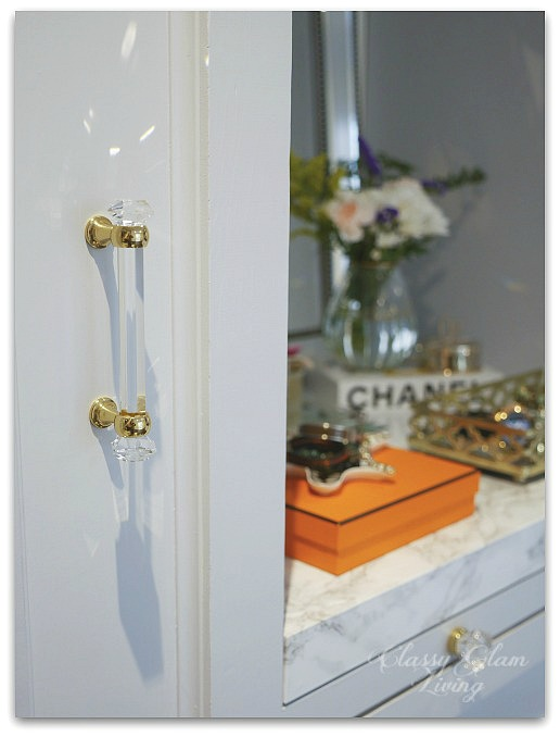 DIY Custom Dressing Room | House of Antique Hardware | Classy Glam Living