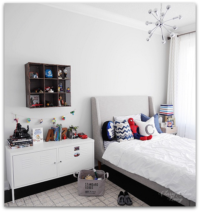Navy blue in boy's room | Classy Glam Living