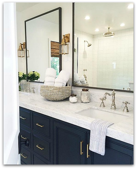navy and white bathroom my for navy blue and the next big plan glam 19721