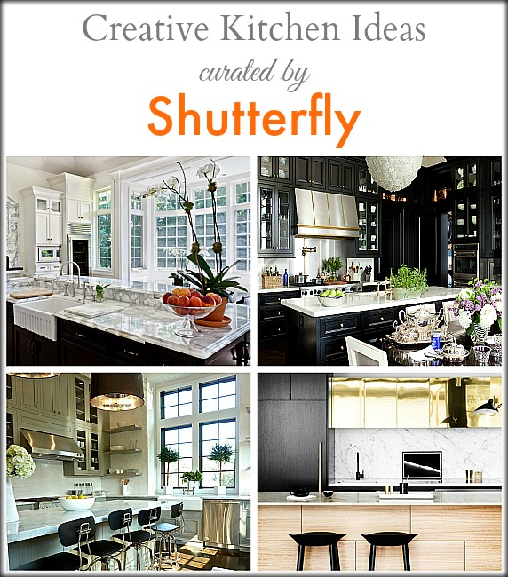 Creative Kitchen Ideas by Shutterfly | Classy Glam Living