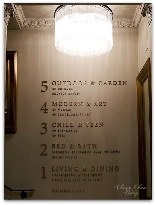 Restoration Hardware Chicago - Gallery + 3 Arts Club Cafe | Classy Glam Living