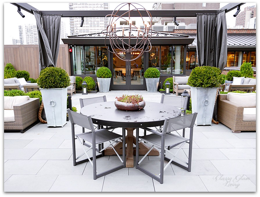 Restoration Hardware Chicago - Gallery + 3 Arts Club Cafe | Outdoor Patio | Classy Glam Living
