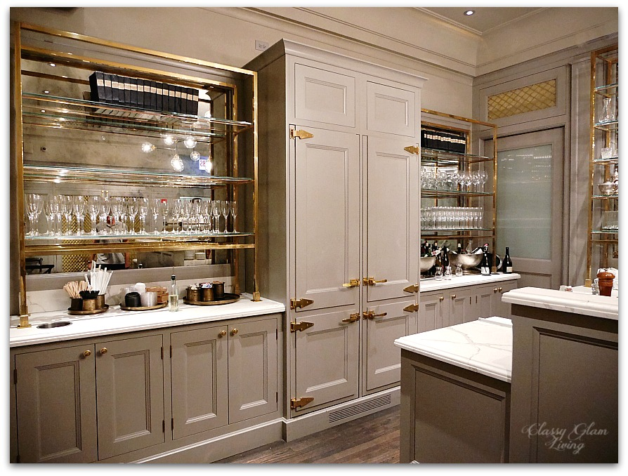 Restoration hardware chicago the gallery at three arts club classy glam living - Restoration hardware cabinets ...