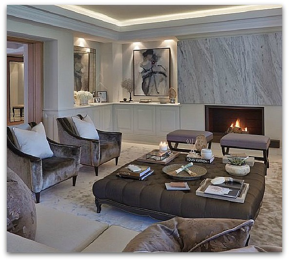 Plan For Our Basement Family Room Classy Glam Living