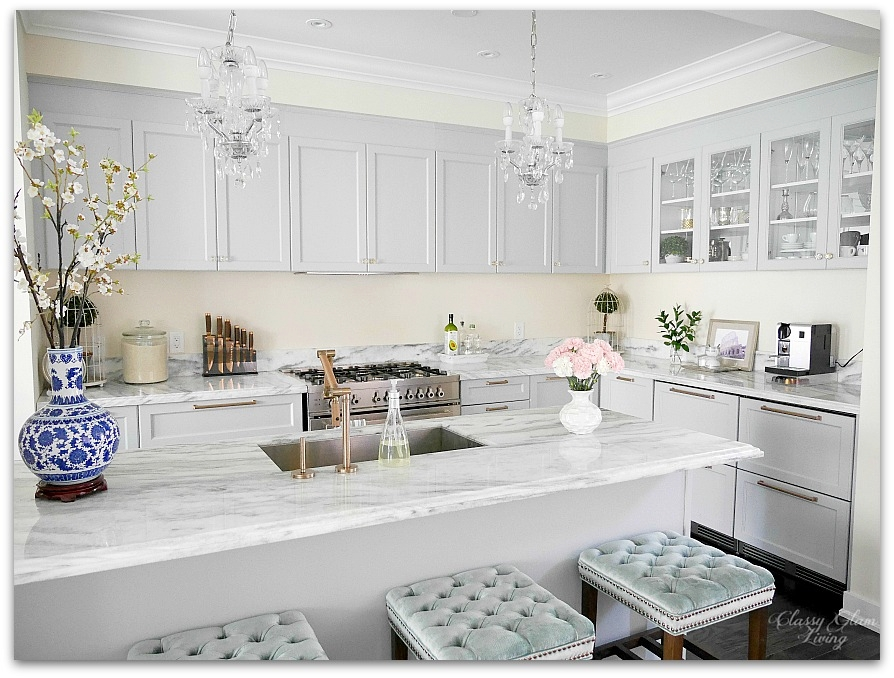 New House Kitchen reveal | Classy Glam Living