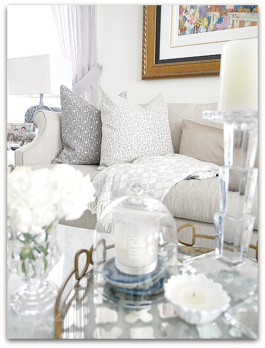 Fall Decor from HomeSense Living room family room | Classy Glam Living 2