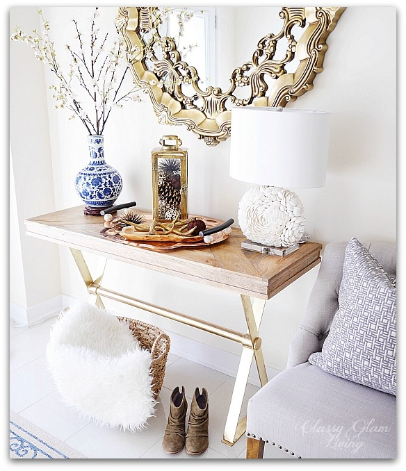 Fall Decor from HomeSense Entryway | Classy Glam Living 2