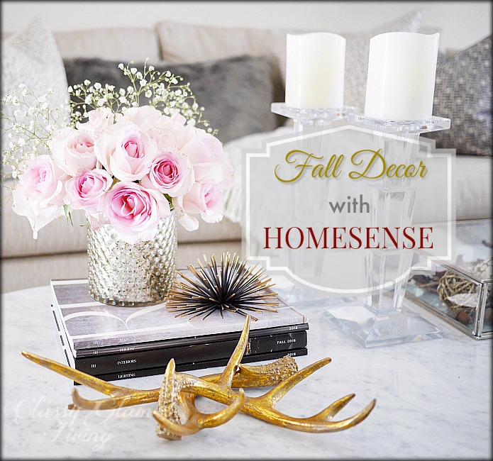 Fall Decor with HomeSense | Classy Glam Living