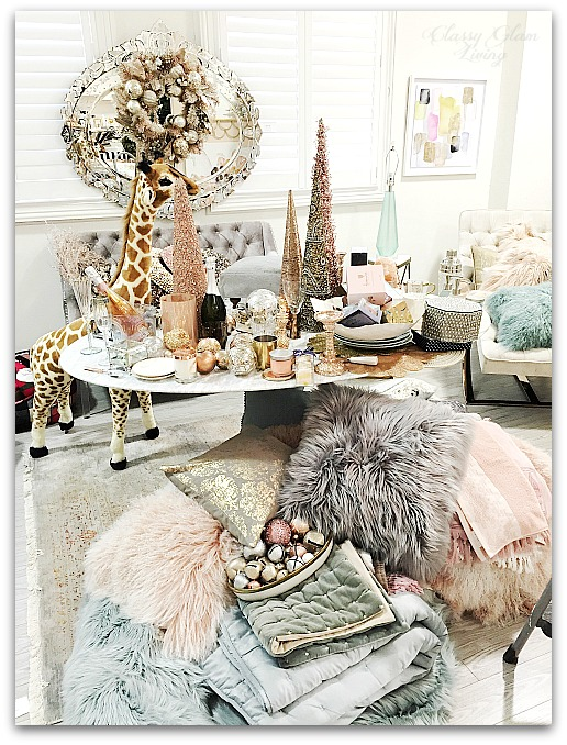 Winter Wonderland Homesense Decor | Classy Glam Living