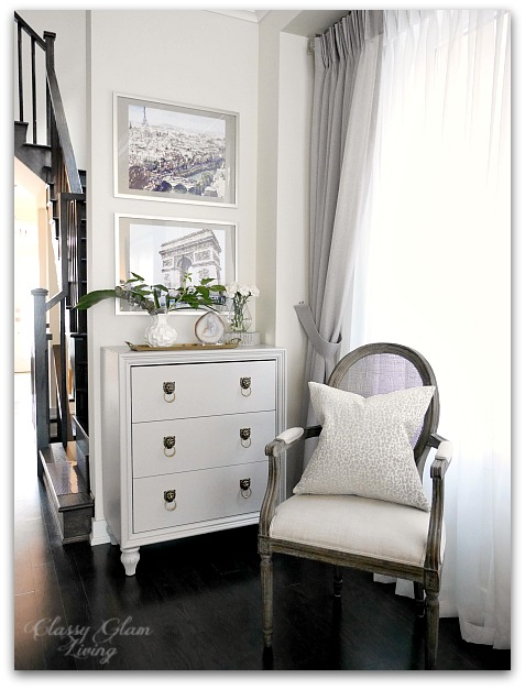 DIY Drop zone storage cabinet with drawers 1 | Classy Glam Living