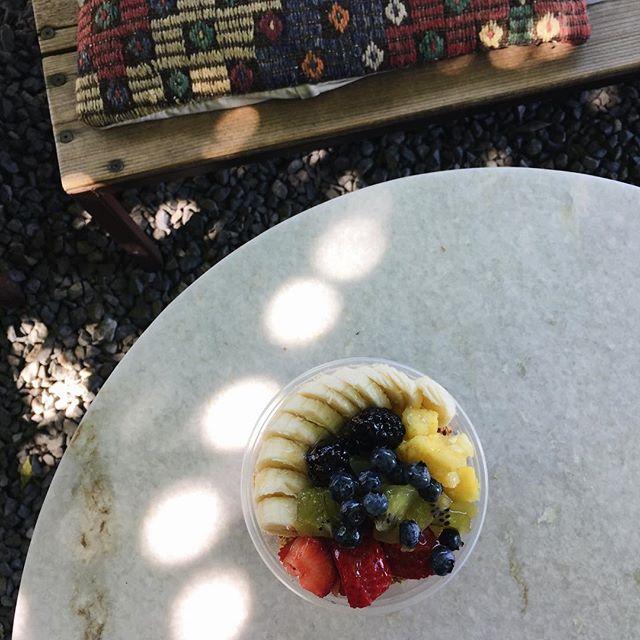 Our acai bowl ✨🍌