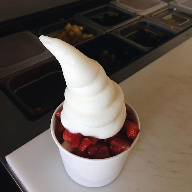 our frozen yogurt 🙌🏼🙌🏼