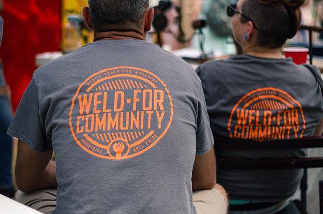 #weldforcommunity 📷: @murphyleemoschetta